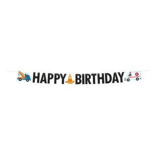 Letterslinger happy birthday hulpdiensten