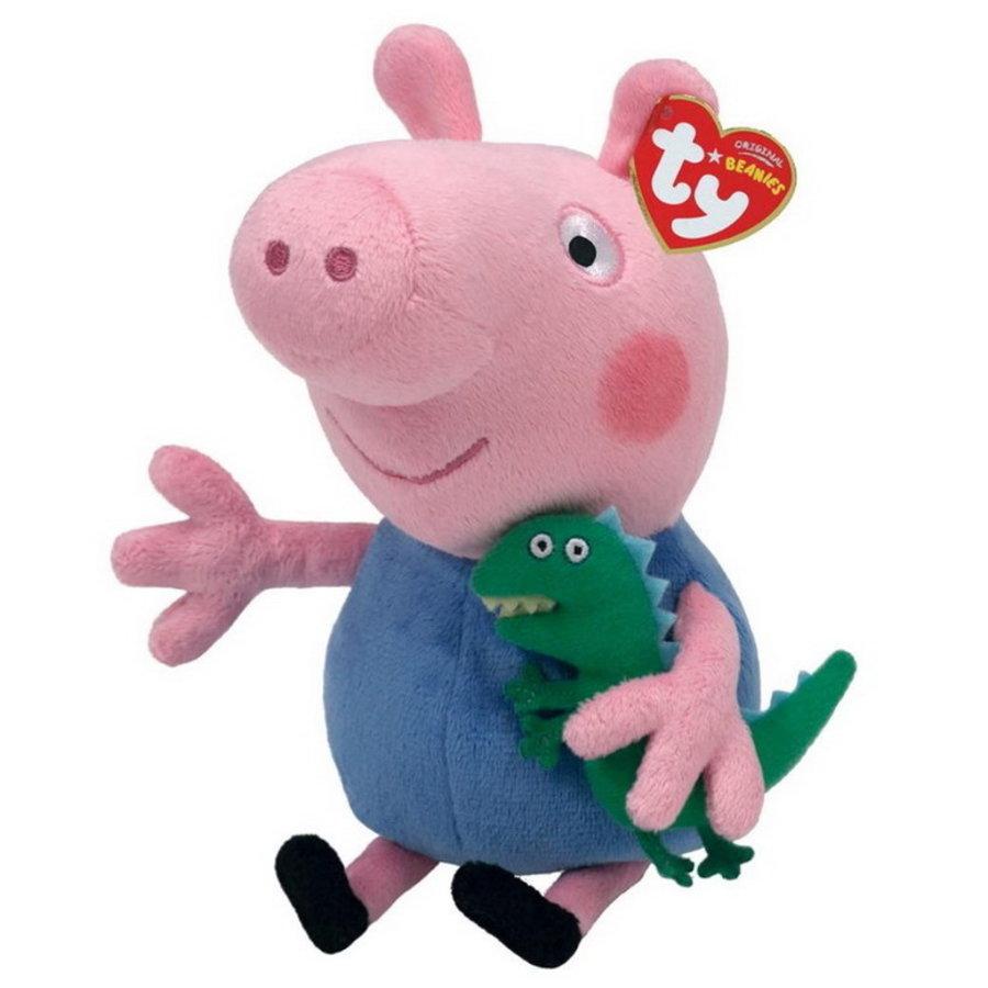 Pluche knuffel George Pig 16cm