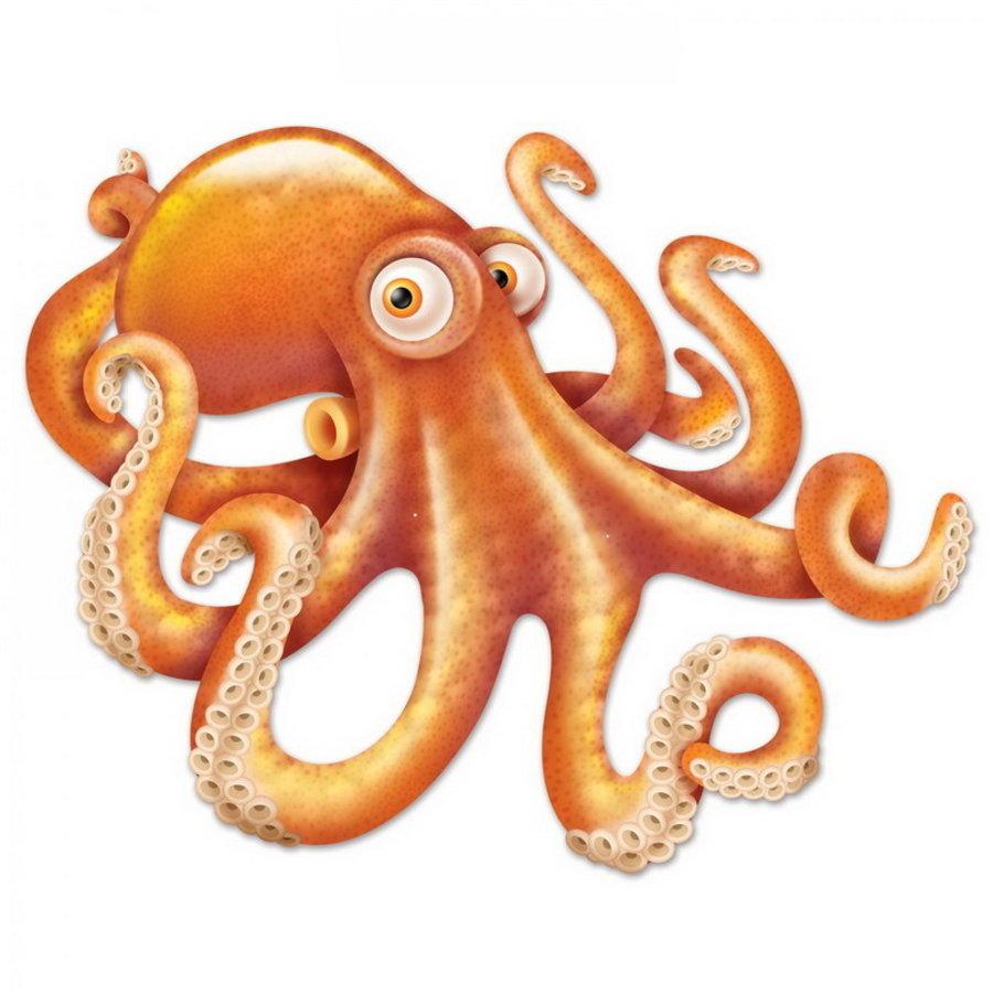 Decoratie Octopus MEGA
