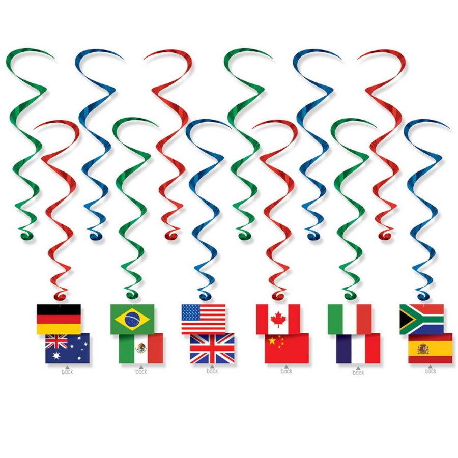 Hangdecoratie Whirls Internationaal