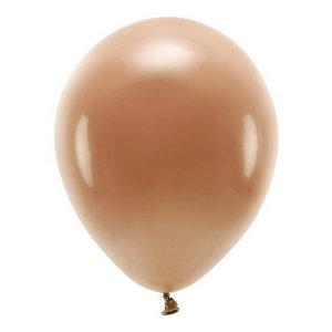 Ballonnen lichtbruin 10 stuks