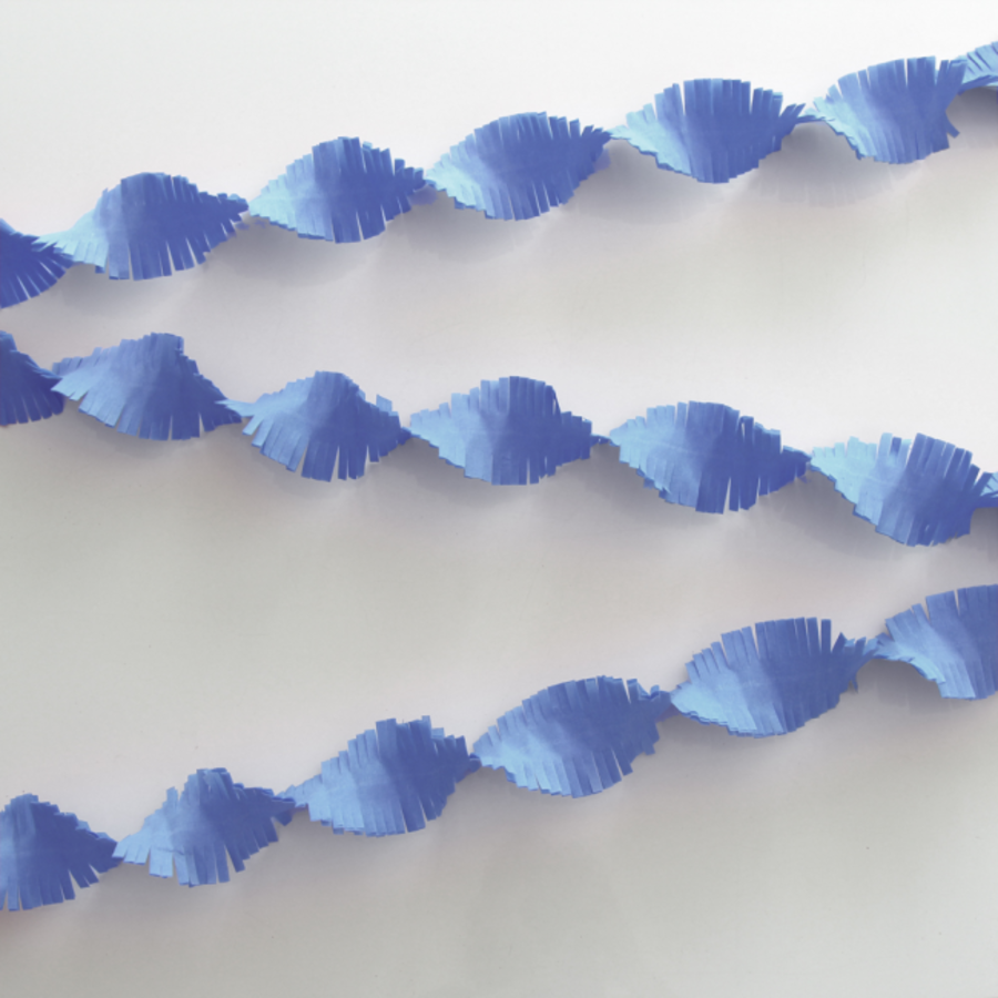 Slinger lichtblauw 6 meter