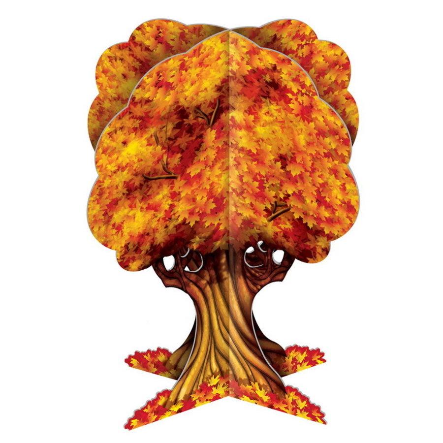 Tafeldecoratie herfstboom 3D