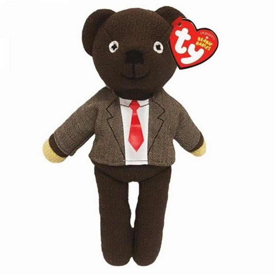Ty Beanie Boo pluche knuffel Teddy met jasje