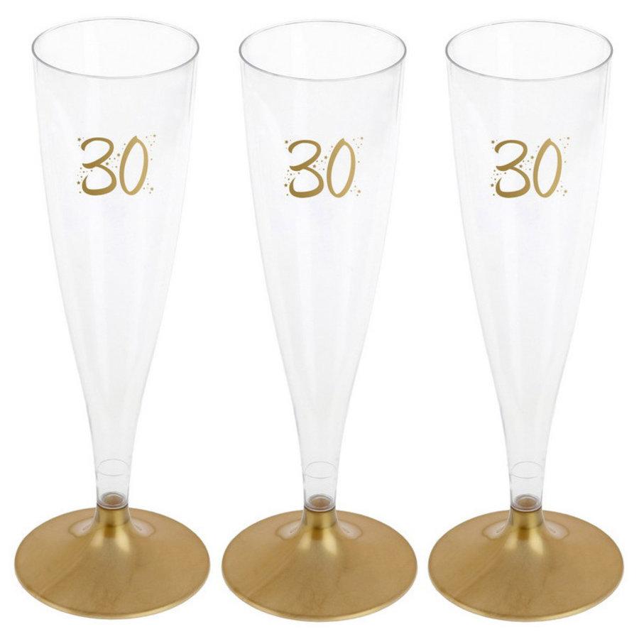 Party Proost glas 30 jaar 6 stuks
