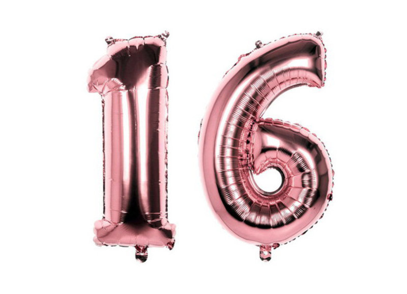 Sweet 16 ballonnen