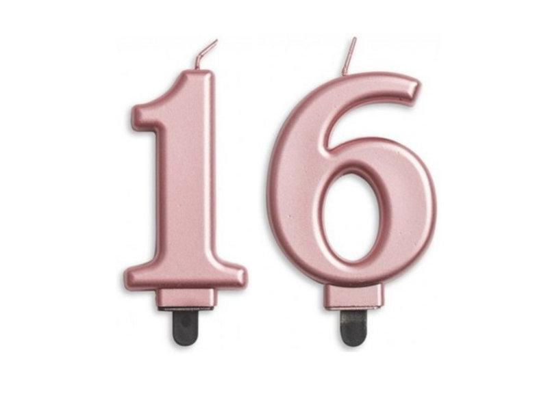 Sweet 16 taartkaarsjes