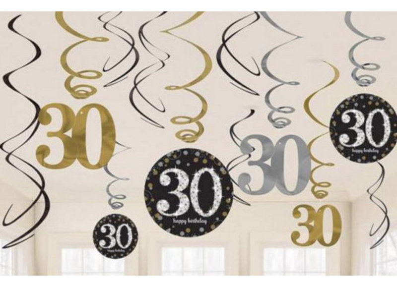 30 jaar decoraties