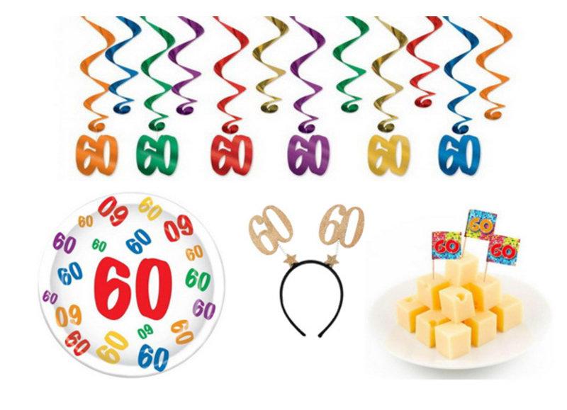 Alle 60 jaar feestartikelen