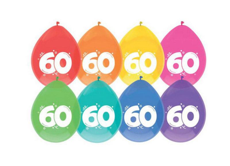 60 jaar ballonnen