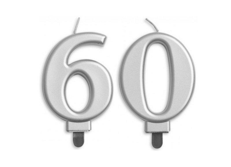 60 jaar taartkaarsjes