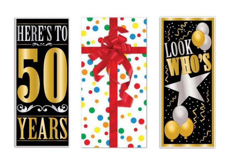 50 jaar deurposters
