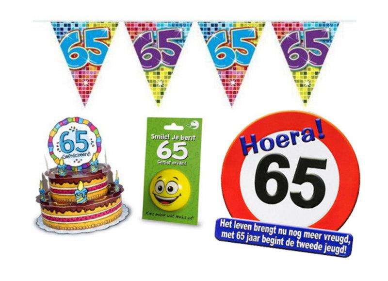Alle 65 jaar feestartikelen