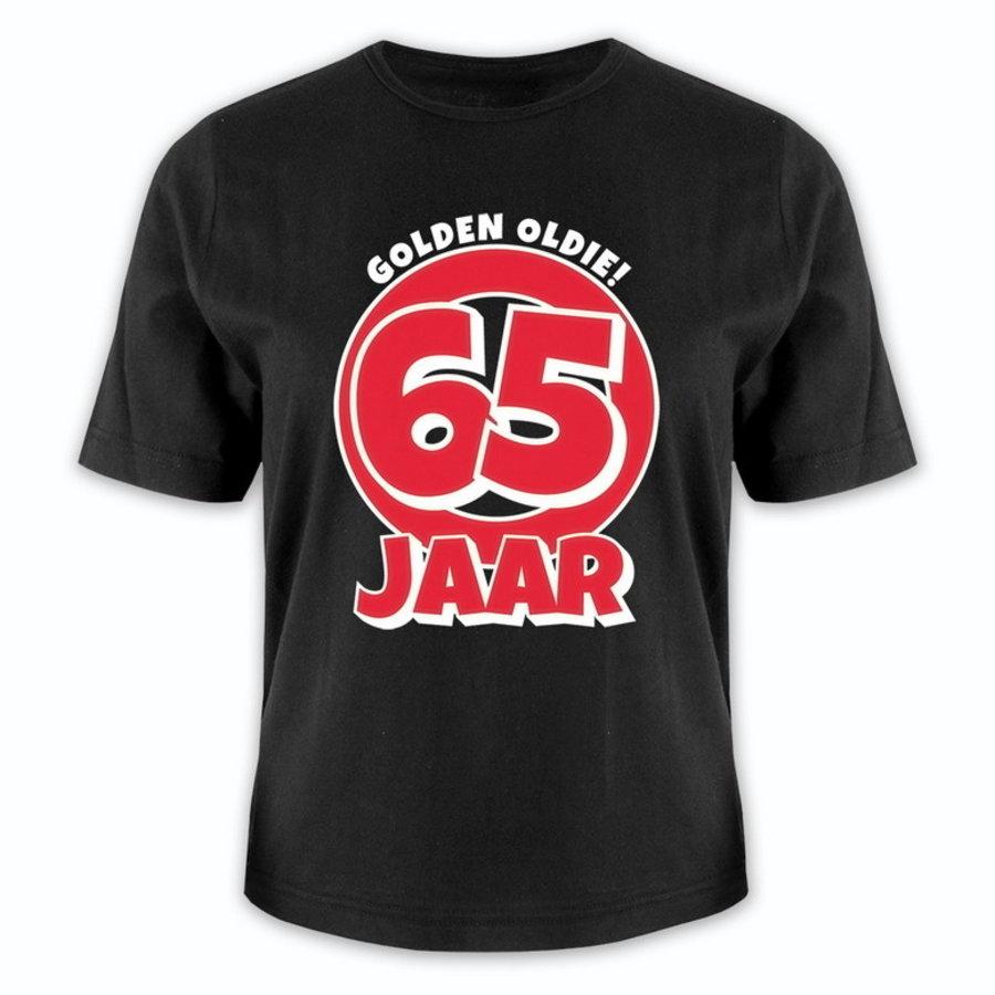 T-shirt 65 jaar Golden Oldie