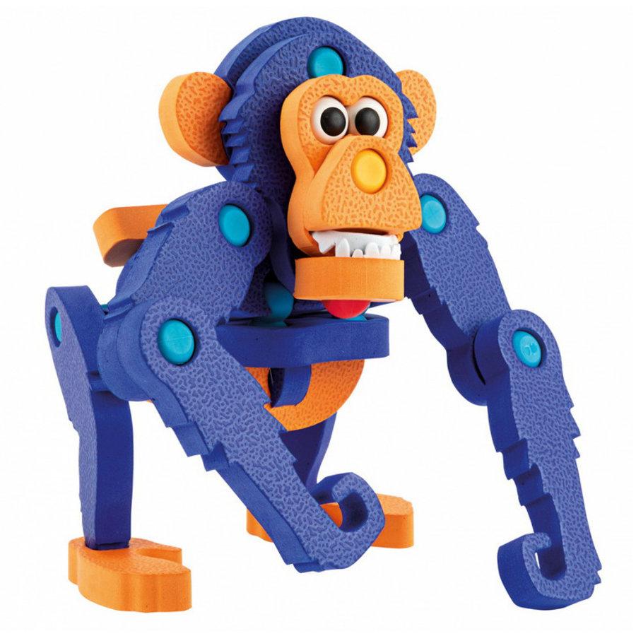 3D Constructiefoam Gorilla