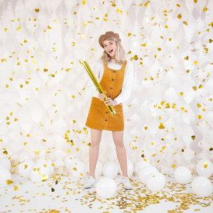 Confetti Cannon hartjes goud