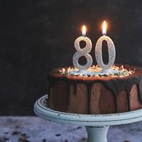 Verjaardag 80 jaar vieren voor jong en oud