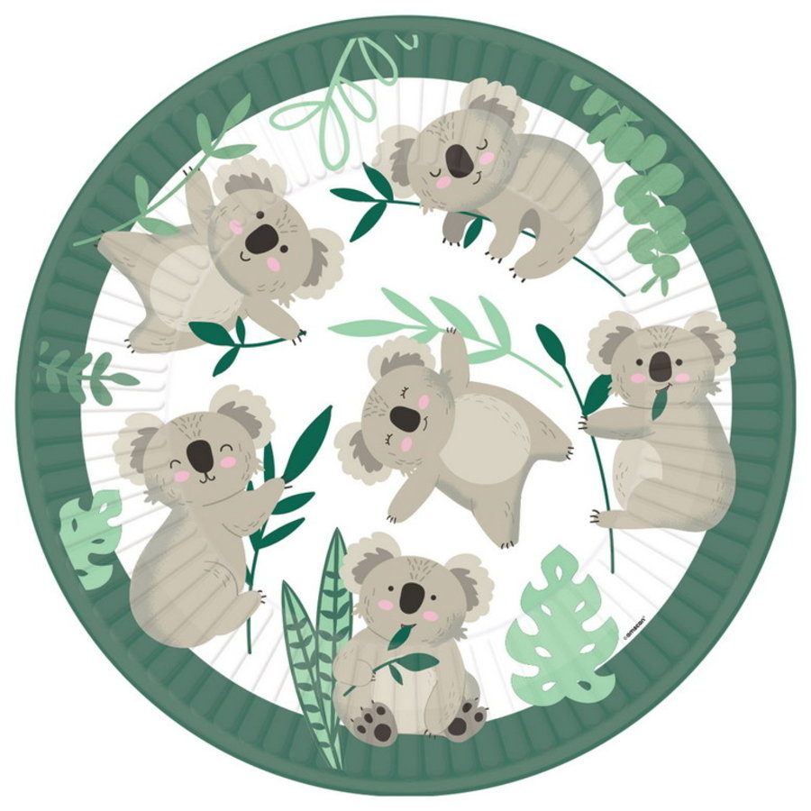 Bordjes Koala beer 8 stuks