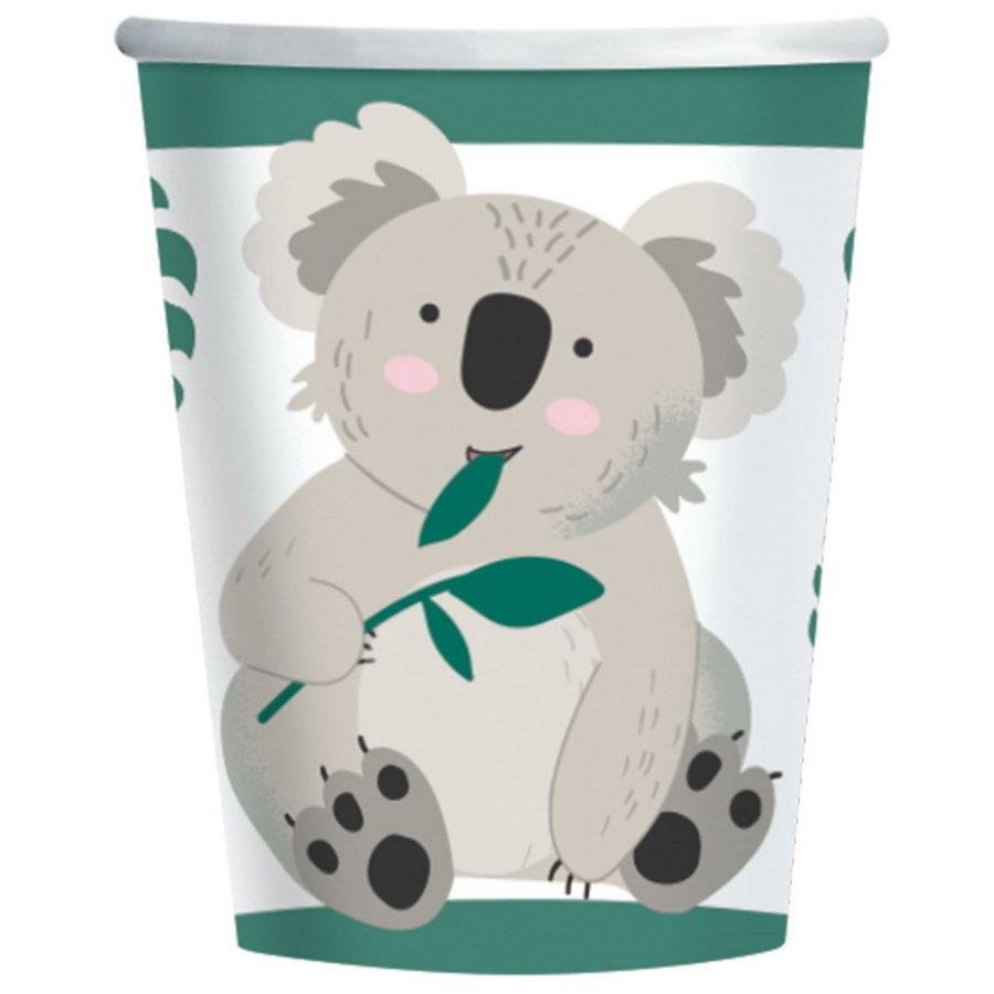 Bekertjes Koala beer 8 stuks