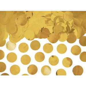 Confetti goudkleurig 15 gram