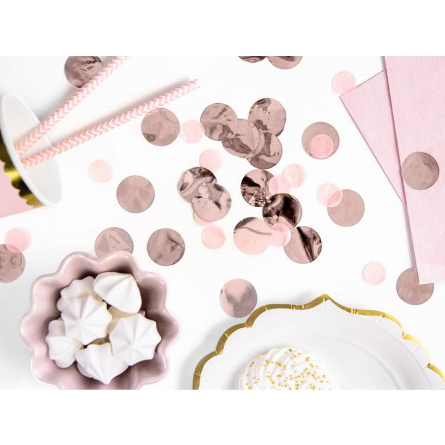Confetti rosé goud 15 gram