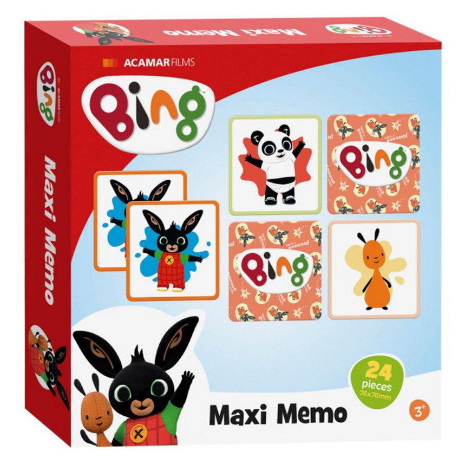 BING Memo spel maxi