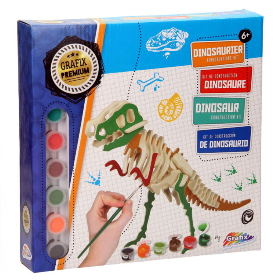 Dinosaurus T-Rex Construction kit