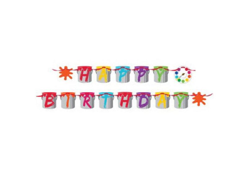 Knutselversiering voor een kinderverjaardag