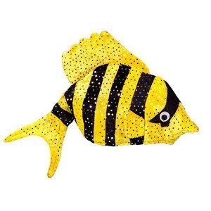 Hoed tropische vis geel