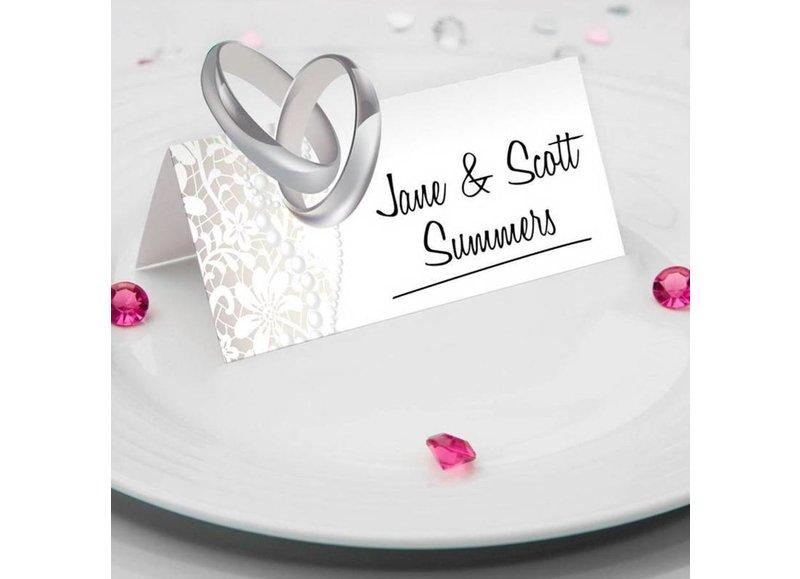 Bruiloft tafeldecoraties