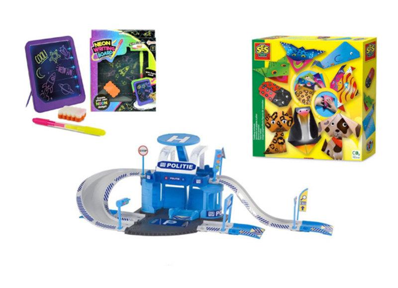 Diverse speelgoed voor kinderen