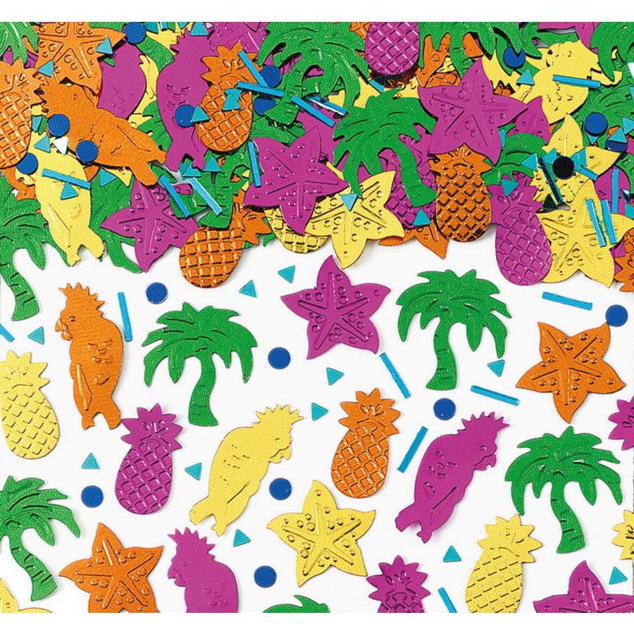 Confetti Tropische figuren