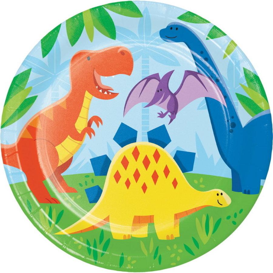 Bordjes Dino Friends 8 stuks
