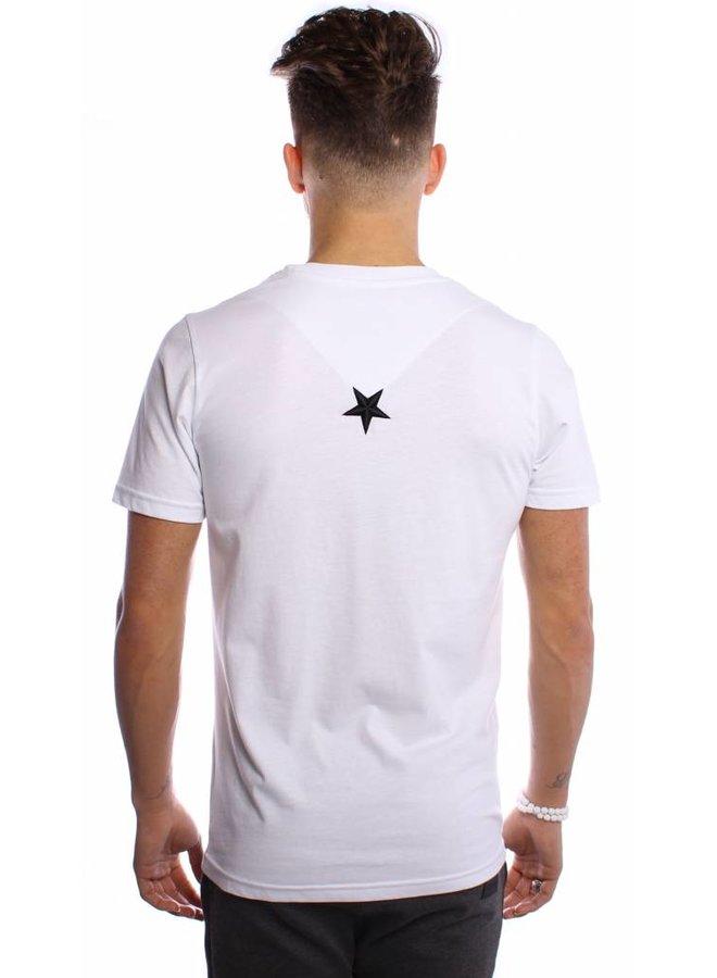 Conflict T-shirt Samurai White
