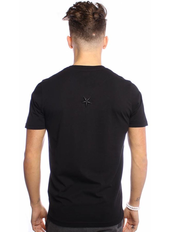 Conflict T-shirt East Side Black