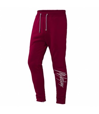 Milestone Relics Signature Trackpants Bordeaux