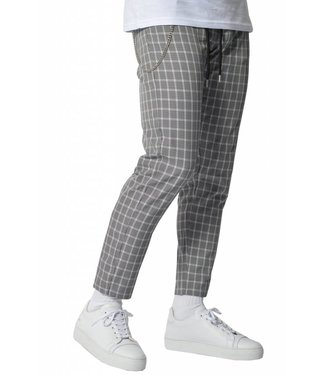 YCLO YCLO Elias Checkered Pants Black/White