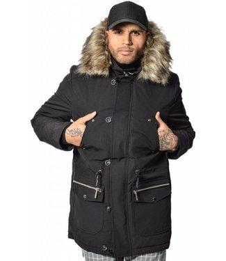 YCLO YCLO Kresten Parka Black (Faux Fur)