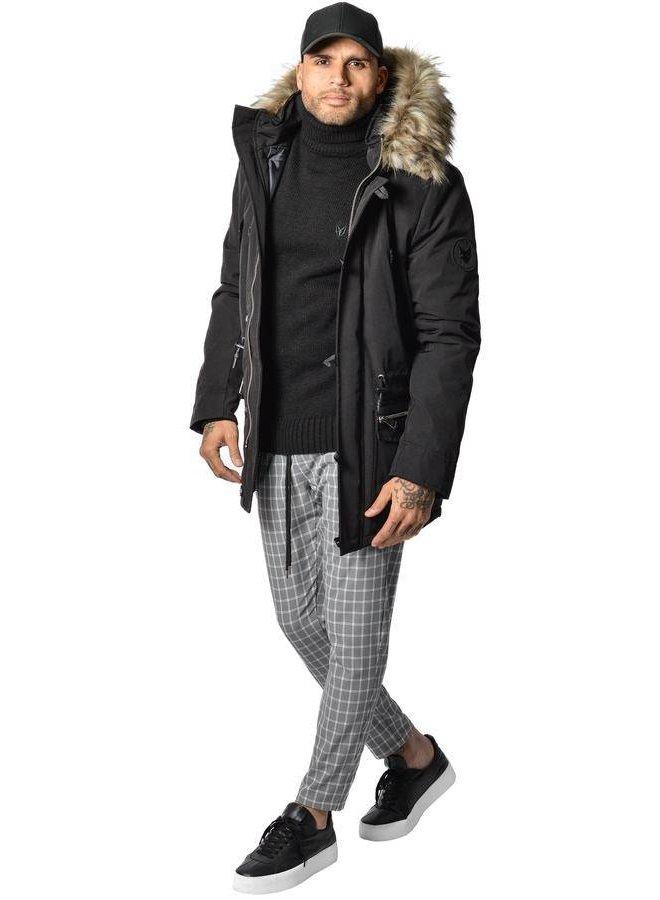 YCLO Kresten Parka Black (Faux Fur)