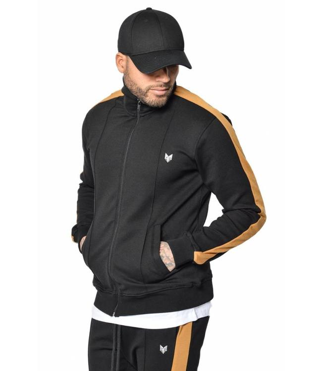 YCLO YCLO Sweat Jacket Greger Black