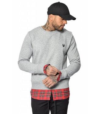 YCLO YCLO Sweater Dani Gray Melange