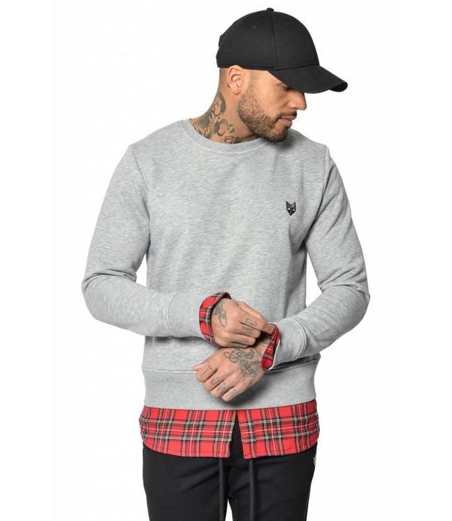 YCLO YCLO Sweater Dani Grey Melange