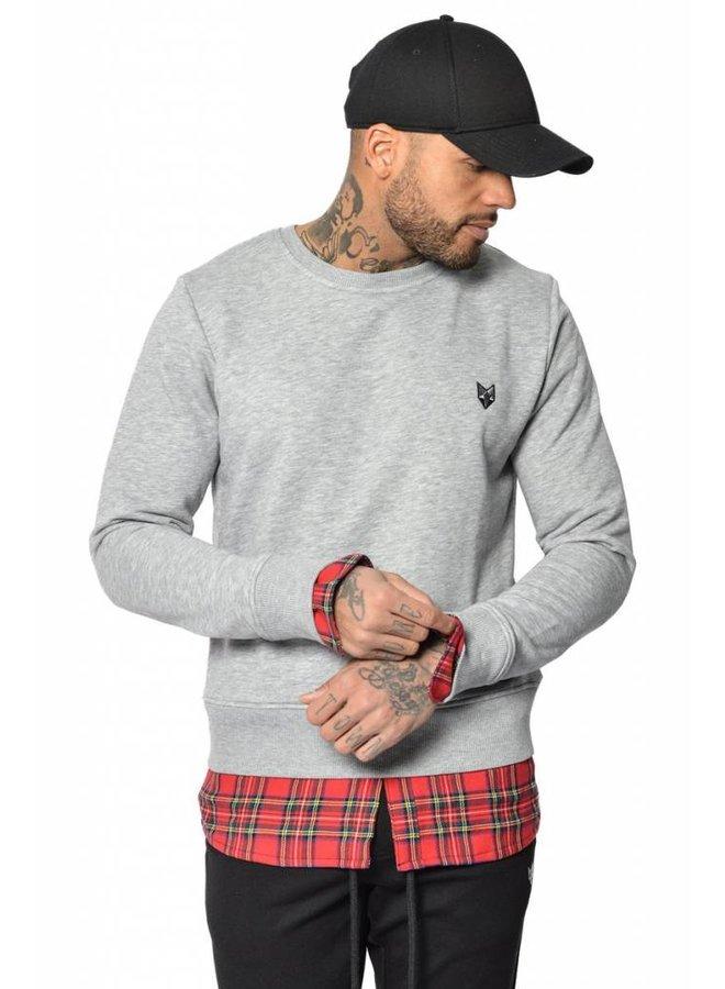 YCLO Sweater Dani Grey Melange