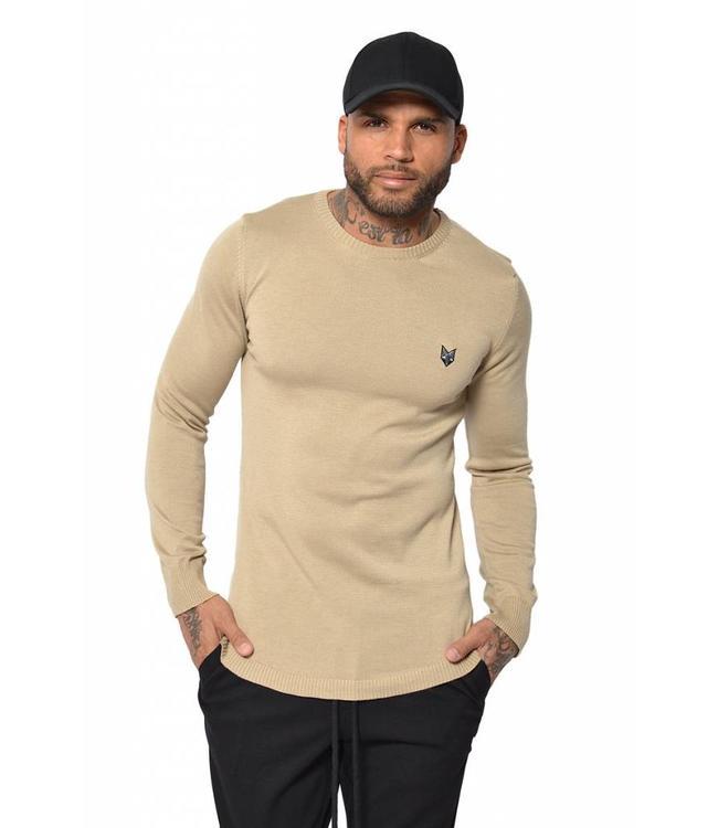 YCLO YCLO Knit Sweater Kaj Beige
