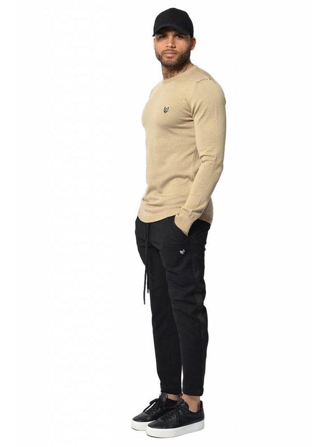 YCLO Knit Sweater Kaj Beige