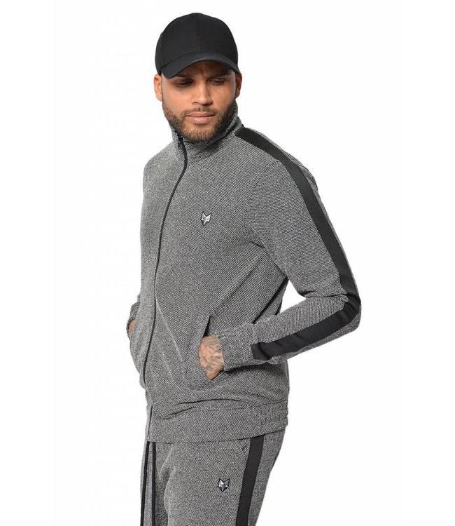 YCLO YCLO Sweat Jacket Oscar Grey
