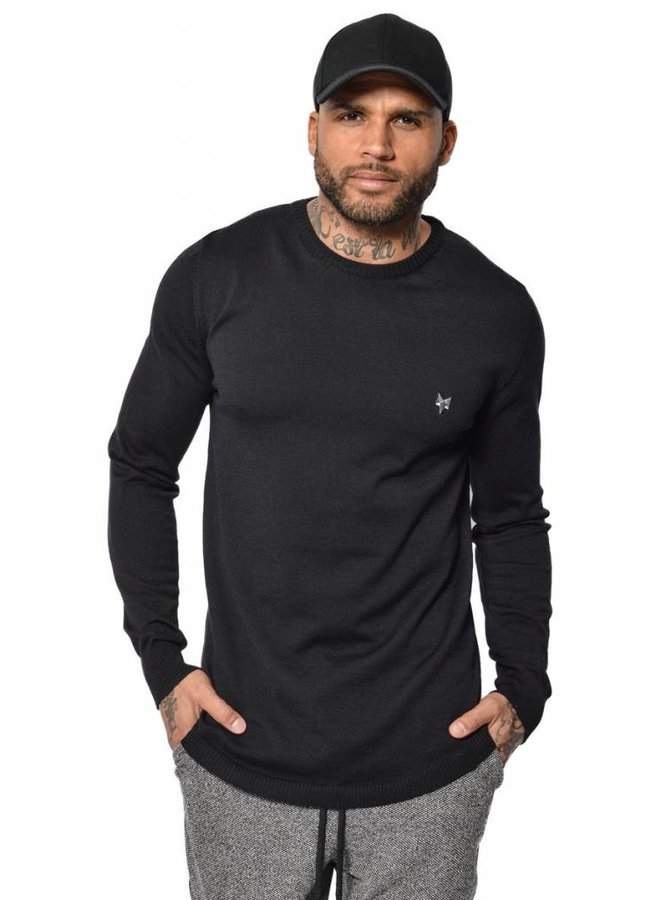 YCLO Knit Sweater Kaj Black