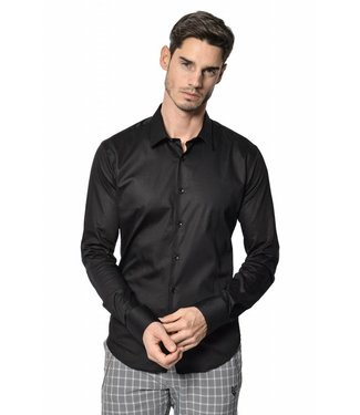 YCLO YCLO Enno Button Shirt Black