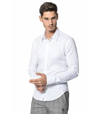 YCLO YCLO Enno Button Shirt White