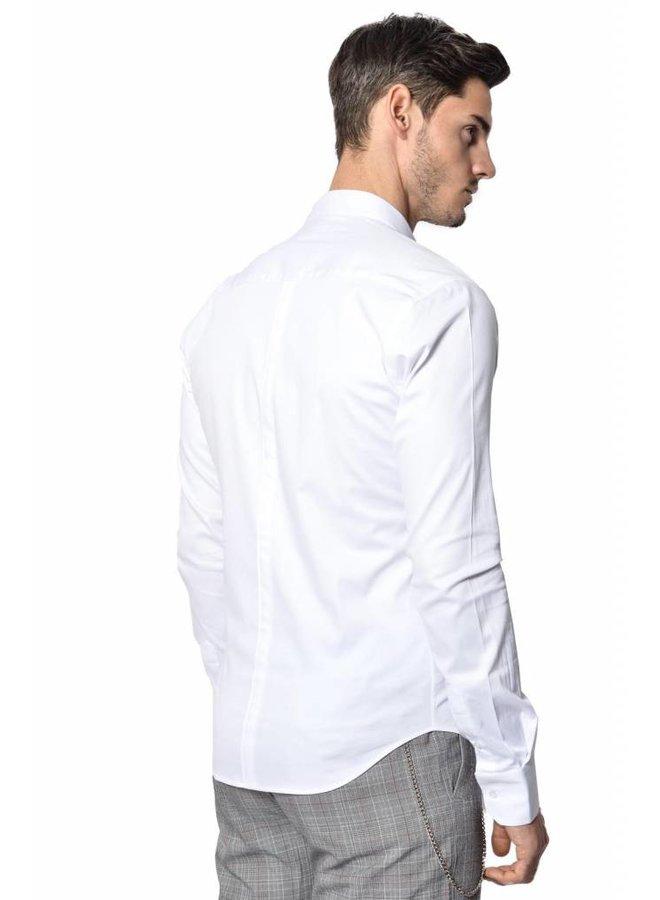 YCLO Enno Button Shirt Weiß